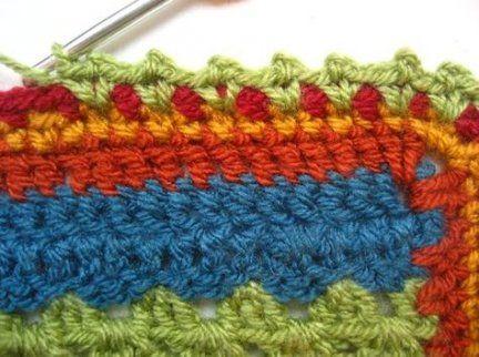 55 Trendy Crochet Afghan Edging Attic 24 Crochet Edging Crochet Blanket Edging Crochet Flower Patterns