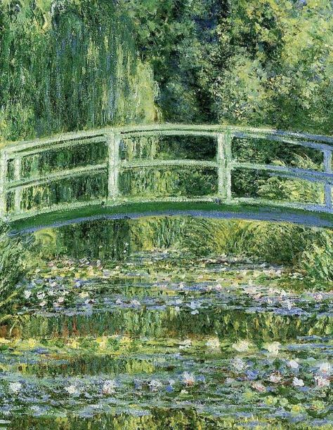 Claude Monet / Water Lilies and Japanese Bridge Claude monet – 1080 × 1920 – Wallpaper Gallery KAGIROHI - Sites new Monet Wallpaper, Aesthetic Painting, Aesthetic Art, Claude Monet, Renaissance Kunst, Old Paintings, Indian Paintings, Abstract Paintings, Impressionism