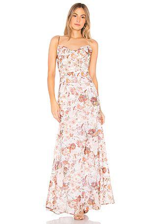 Winona Australia Tigerlily Cowl Maxi Dress In Floral Revolve Tigerlily Maxi Dress Tigerlily Dress Dresses
