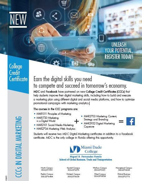 Earn The Digital Skills Needed To Succeed In Our New Economy Join The Digital Marketing Class I M I In 2020 Digital Marketing Plan Digital Marketing Marketing Courses
