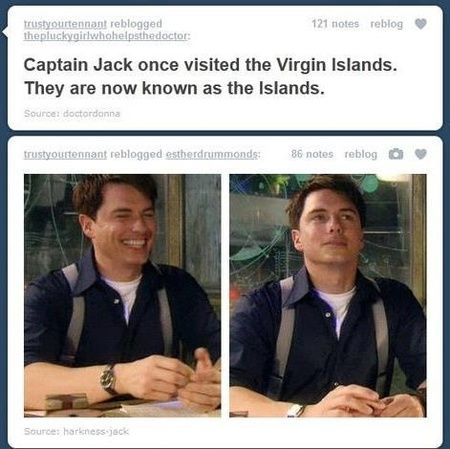 Didn't realize that was possible, but then again it's Captain Jack Harkness we're talking about here.