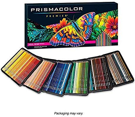 Amazon Com Prismacolor Premier Colored Pencils Soft Core 150