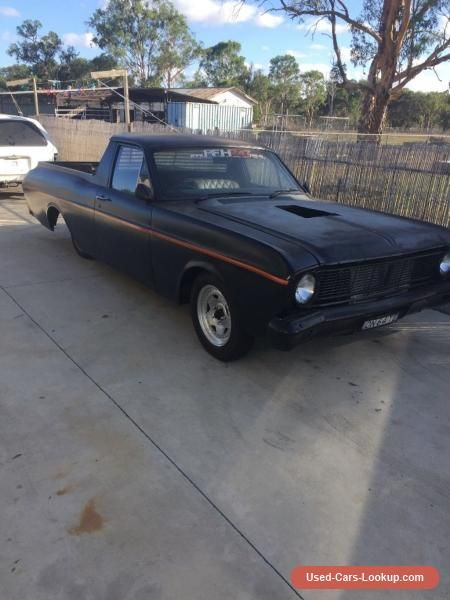 Car For Sale Ford Xt Falcon 1968 Ute Barra 6 Turbo 4link Rear End Convo Pros Custom Trim