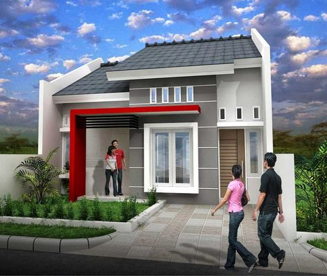 model rumah idaman impian banyak orang desain sederhana minimalis home sweet pinterest