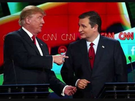 Ted Cruz says he will vote for Donald Trump-USA Election...