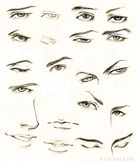 Anime Eyes Male Anime Eyes In 2020 Eye Drawing Tutorials Face Drawing Guy Drawing