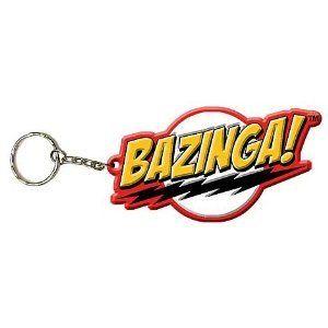 Big Bang Theory  Rubber Keyring