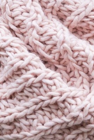 Blush pink knitted texture.