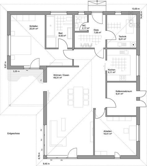 Hauspläne l-form  9 best LUXHAUS | Hauspläne und Grundrisse images on Pinterest ...