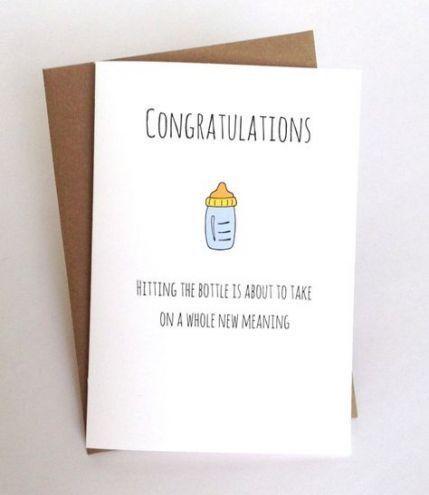 Baby shower card diy funny 29 New ideas