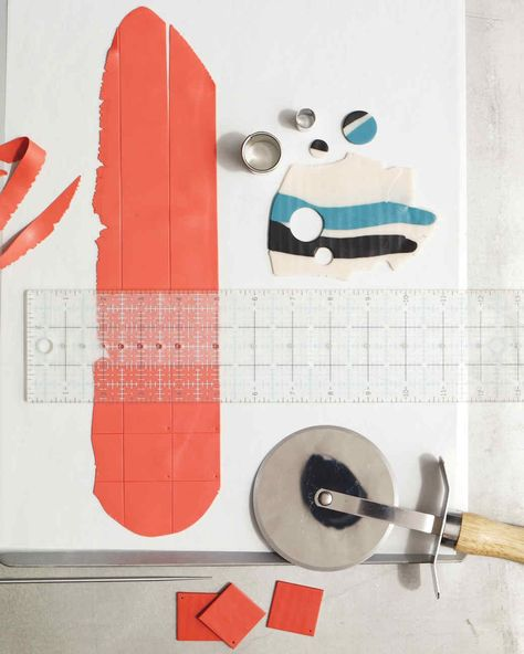 Polymer Clay 101: Cutting Flat Shapes