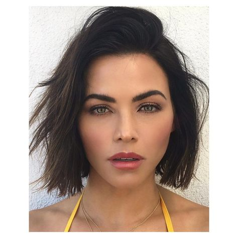 Jenna Dewan Tatum just got a hair cut, and the trim made a huge difference—gone are the iconic Jenna Dewan Tatum highlights.