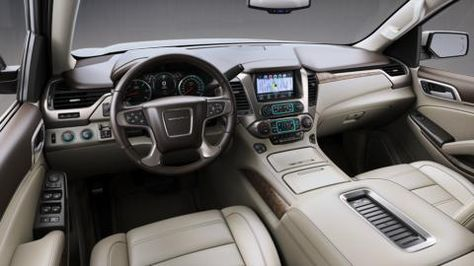 Step Inside The Yukon Xl Denali Full Size Luxury Extended Suv