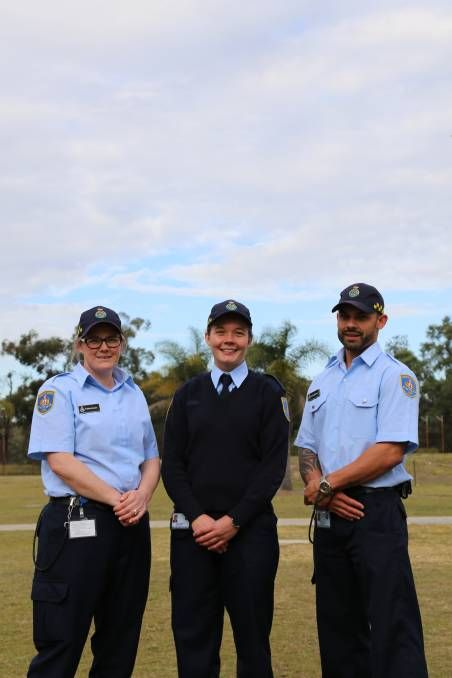 Tradies Hairdressers Former Police Officers Will Join The Prison Officer Ranks After 27 Trainees Graduated From The Corrective Services Academy In Tomago Th Prison Officer Police Officer Hairdresser