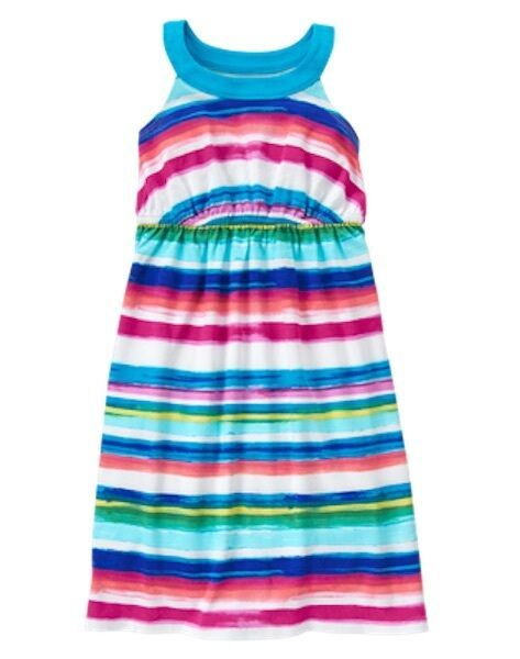 Gymboree Baby//Toddler Girl/'s Knit Striped Cotton Dress NWT!