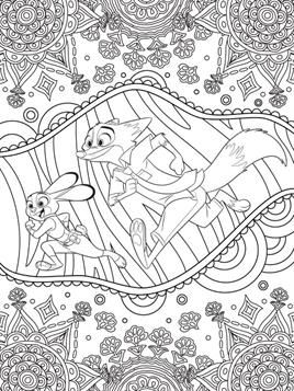 Kids N Fun Com 9 Coloring Pages Of Disney Difficult Cool Coloring Pages Coloring Pages Zootopia Coloring Pages