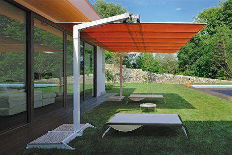 Fim Flexy Aluminum 8 X 12 Rectangular Offset Umbrella Outdoor