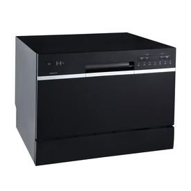 Condo 6 Place Setting Capacity Renewed Black RV Countertop Small Compact Dishwasher for Apartment Office /& Other Small Kitchens Ivation Portable Dishwasher