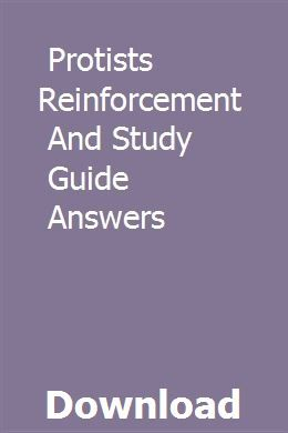 Protists Reinforcement And Study Guide Answers Study Guide Social Learning Theory Learning Theory