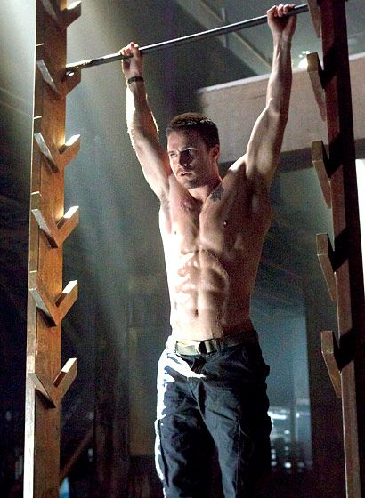 <3 Arrow all because of Stephen Amell! @Amanda Gumpper