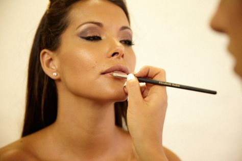 Watch Lee Ann get her Mc naked make up on