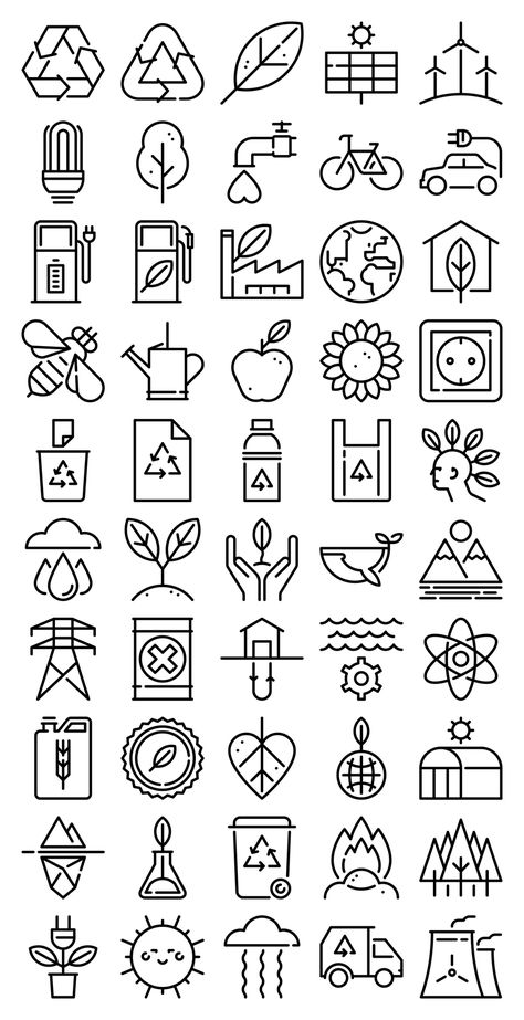 50 free vector icons of Ecology Line Craft designed by Freepik