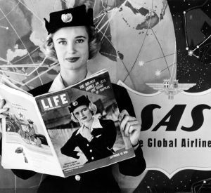 Scandinavian Stewardesses Takes Us Into The Jet Age Jet Age Stewardess Airlines