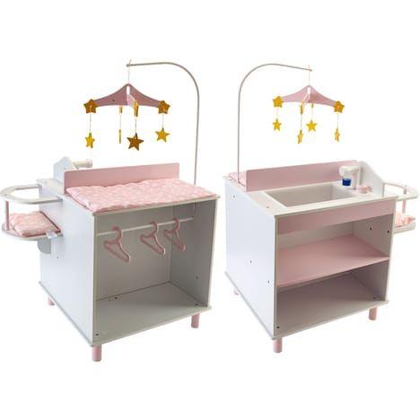 Table nurserie bois ONE TWO FUN pas cher à prix Auchan ...