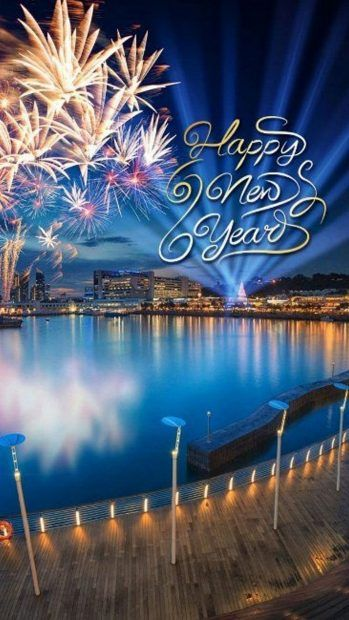 Happy New Year Iphone Live Wallpaper Happy New Year Wallpaper New Year Images Happy New Year Images
