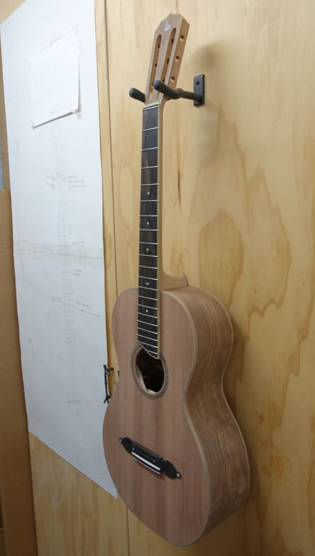 Parlor Guitar G127 Construction By Lichty Guitars Guitar Custom Guitar Bridge Design