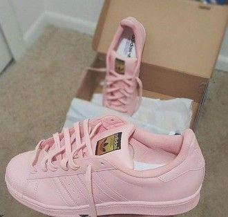 adidas superstar rosa palo
