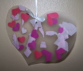 Easy Valentine Crafts For Toddlers And Preschoolers  - Pinned by #PediaStaff. Visit http://ht.ly/63sNt for all our pediatric therapy pins