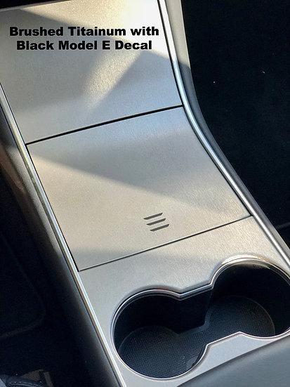 Tesla Model S Center Console Vinyl Wrap