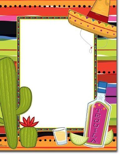 Mexican Invitations Template Mexican Party Invitation Mexican Invitations Fiesta Invitations