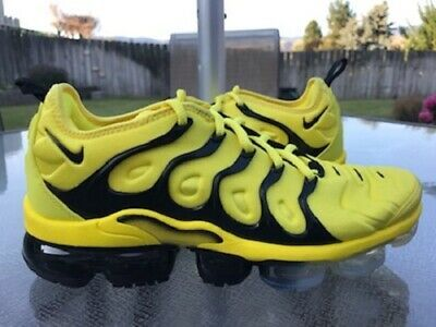 Nike Air Vapormax Plus Yellow Black