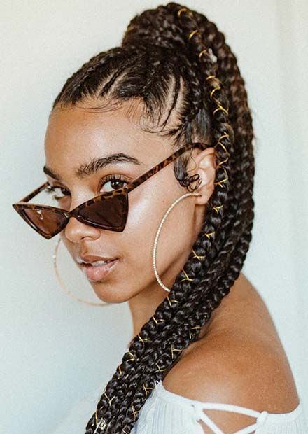 23 Best Braided Ponytail Hairstyles For 2018 Beauty Braided Ponytail Hairstyles Hair Styles Braided Ponytail