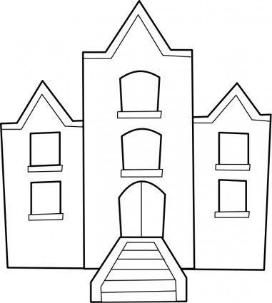 23 Foto Kartun Gedung Sekolah Di 2020 Halaman Mewarnai Kartun