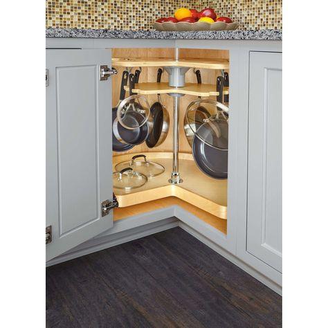 Custom Kitchen Cabinets, Kitchen Cabinet Organization, Kitchen Cabinet Design, Storage Cabinets, Base Cabinets, Storage Shelves, Corner Kitchen Cabinets, Inside Cabinets, Kitchen Designs