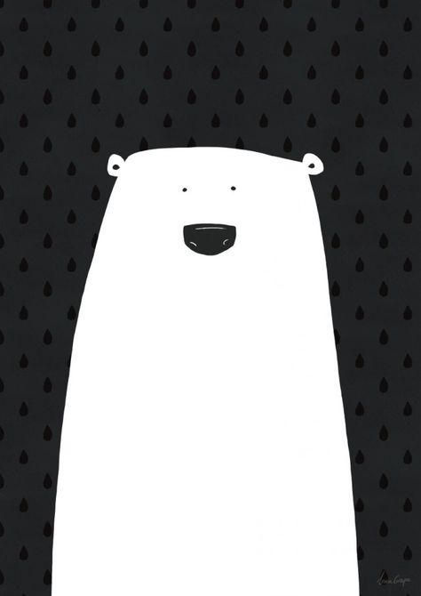 Polar bear    Grape design