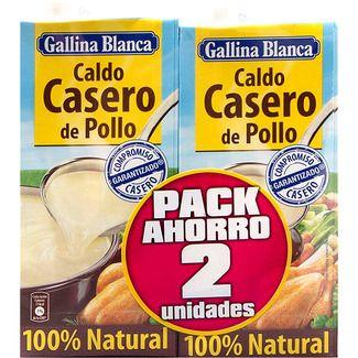 Gallina Blanca Caldo De Pollo Casero 100 Natural Pack 2 Envases 1 L Pollo Casero Caldo De Pollo Casero Caldo De Pollo