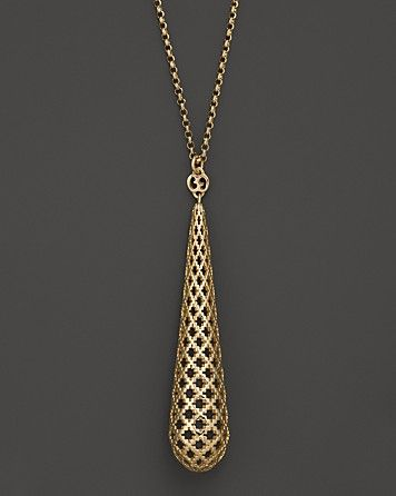 """Gucci 18K Yellow Gold Diamantissima Light Necklace, 28"""" - Necklaces - Shop by Style - Fine Jewelry - Bloomingdale's"""