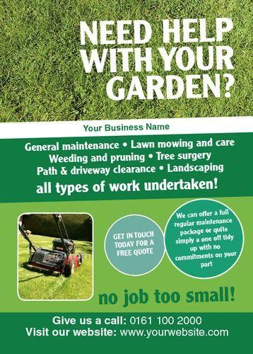 Image Result For Gardening Service Leaflet Gardening Image