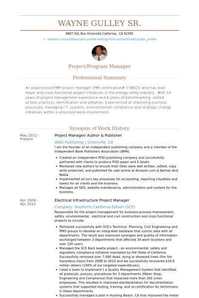 E Publishing Resume Format Resume Format Pinterest Sample