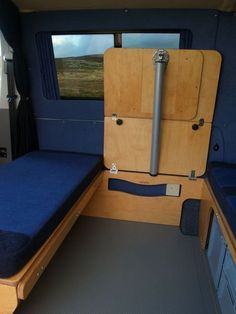 """i want one!! this is a """"bufalino,"""" a one-person camper with a"""