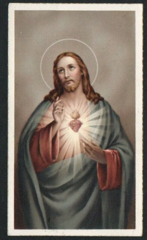 HOLY CARD ANTIQUE de Jesus andachtsbild santino image pieuse estampa - $5.19. de Jesus 372625408771