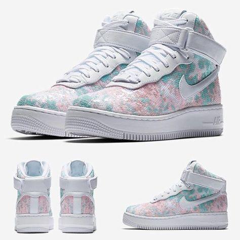 Nike Air Force 1 Upstep Hi LX Glass Slipper SneakerFiles  SneakerFiles