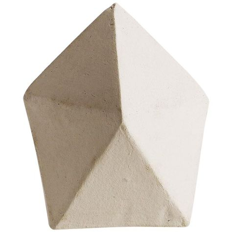 J10 Geometric Ceramic Sculpture With White Finish For Sale At 1stdibs Ceramic Sculpture Geometric Sculpture Geometric