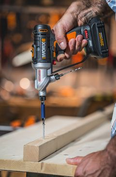 Worx Switchdriver 20 Volt Max 1 4 In Lithium Ion Li Ion Cordless Drill 2 Batteries Included At Lowes Com With Images Cordless Drill Drill Cordless