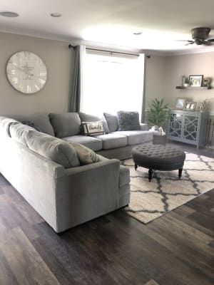 Pin On Living Room In 2020 Living Room Sectional Farm House Living Room Living Room Grey