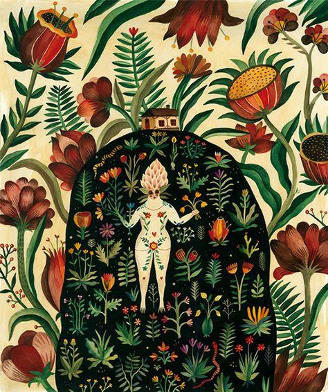 Juxtapoz Magazine - Aitch Illustration